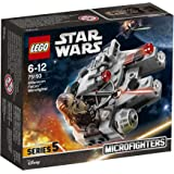 LEGO - Star Wars - Microfighter Faucon Millenium -  - Jeu de Construction75193 - Jeu de Construction