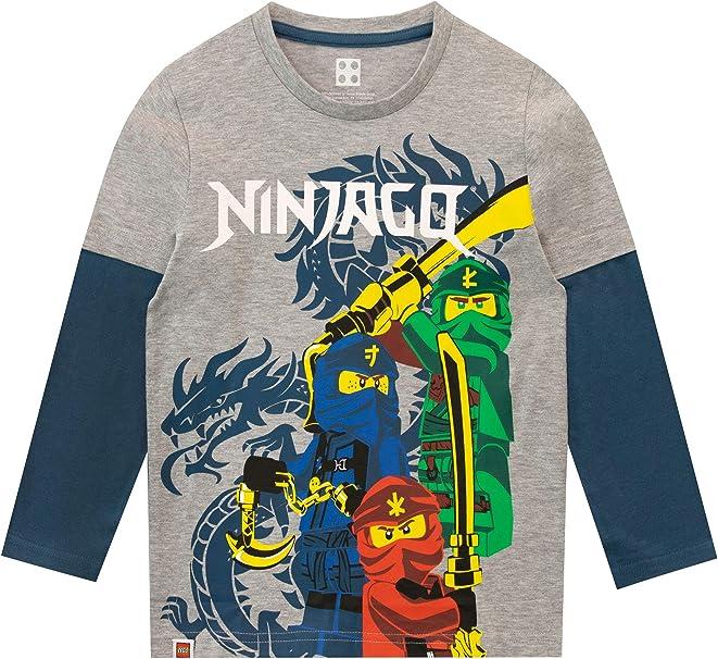 Neu LEGO Ninjago Langarmshirt für Jungen 13457259 für Jungen