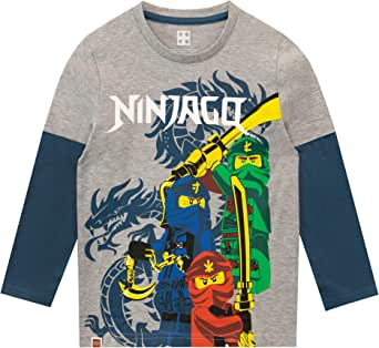 LEGO Ninjago - Camiseta para niño Ninjago - 8-9 Años