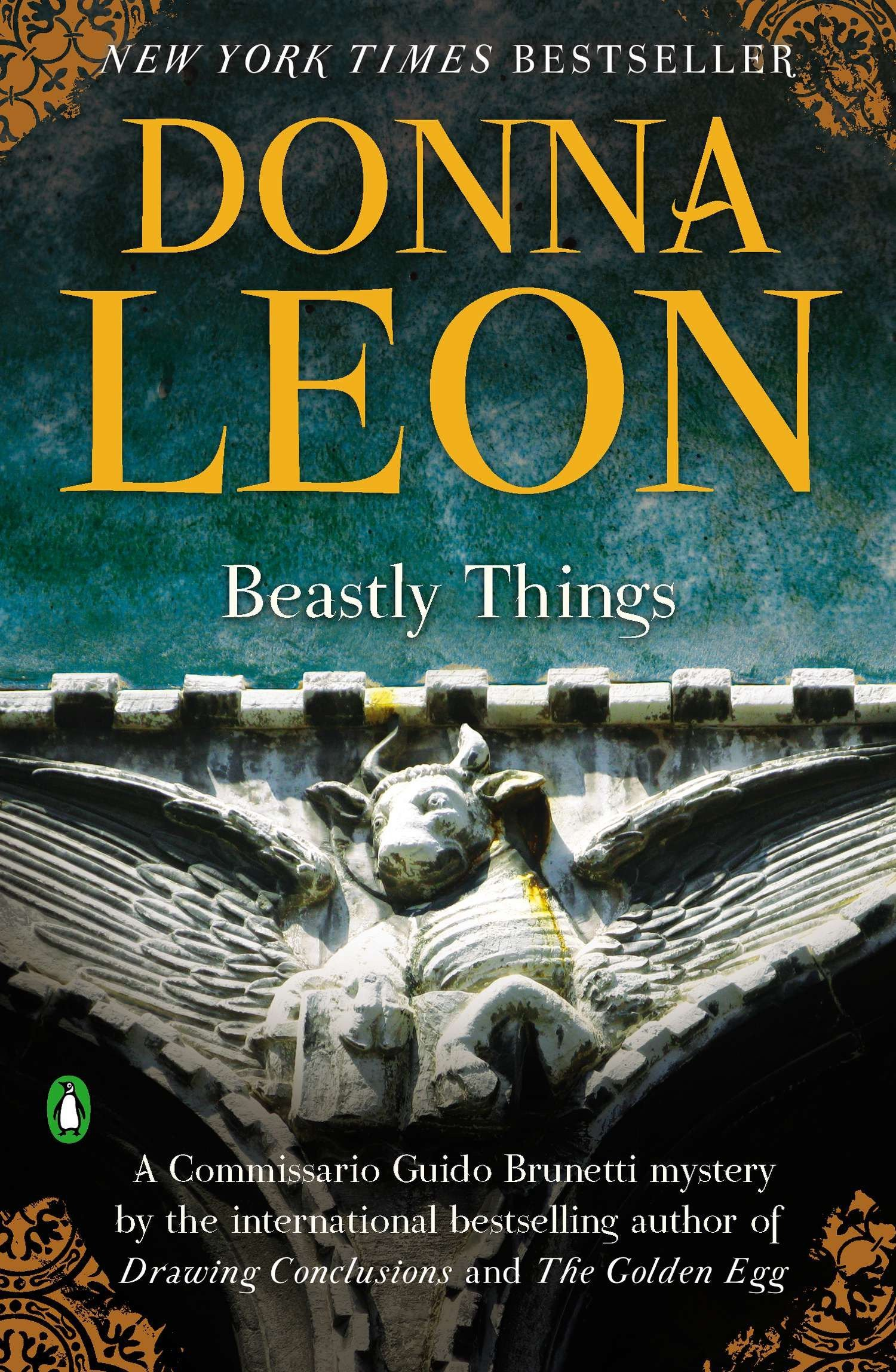 Amazon Beastly Things A Commissario Guido Brunetti Mystery 9780143123248 Donna Leon Books