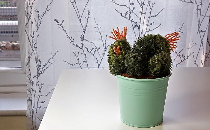 Artificial Cactus Pom Pom Home Decor Amazon Co Uk Handmade