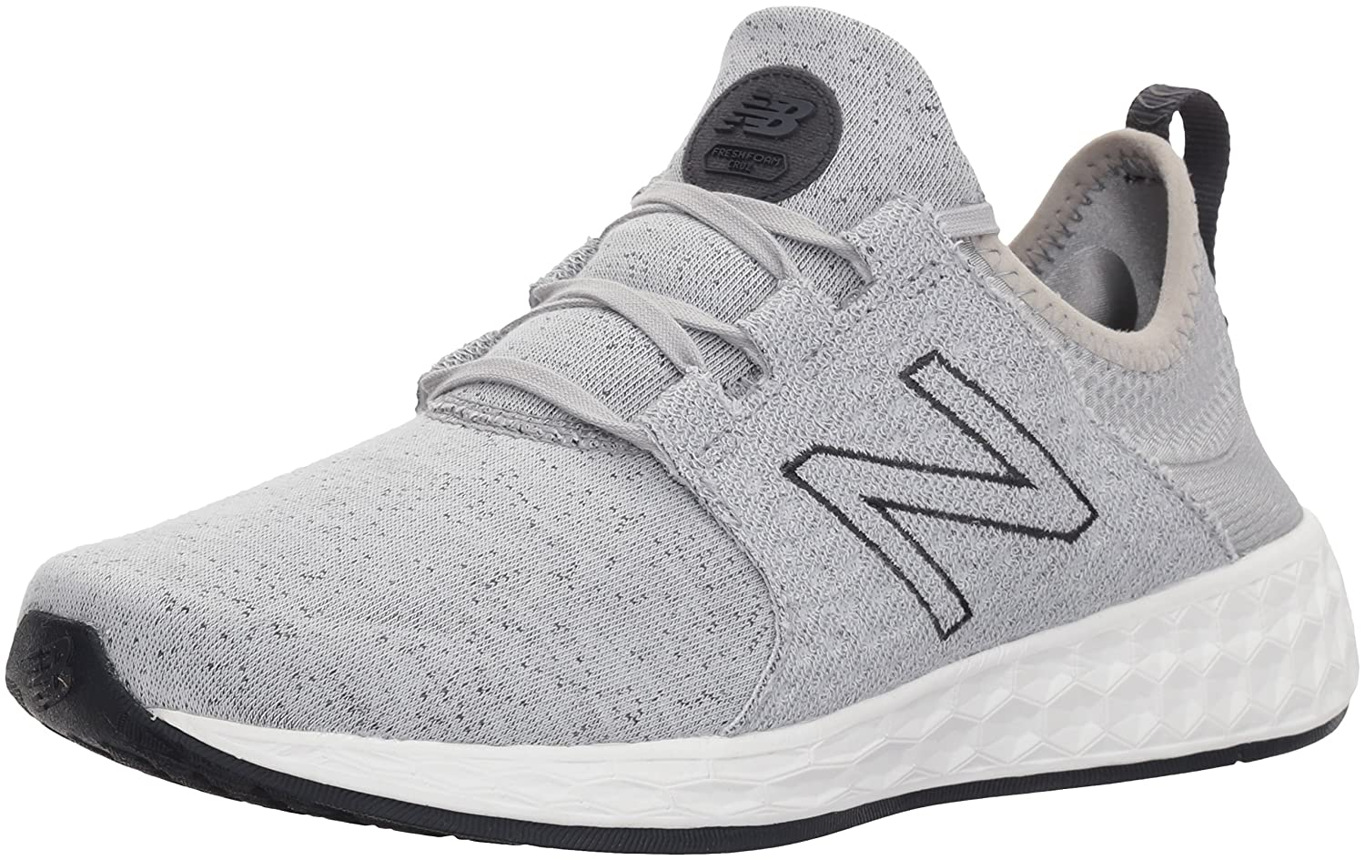 New Balance Women's Fresh Foam Cruz V1 Retro Hoodie Running Shoe B06XSCBFG2 9.5 B(M) US|Silver Mink/Outerspace