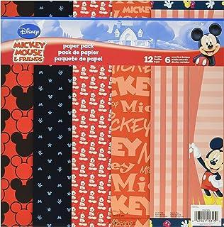 Mickey Travel K /& Company 51-00041 EK Success Brands Disney Scrapbook Kit