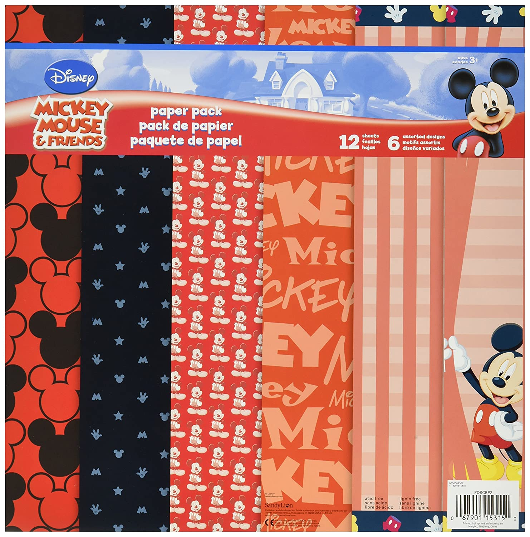 Trends International SandyLion Disney Mickey Mouse Paper Pack