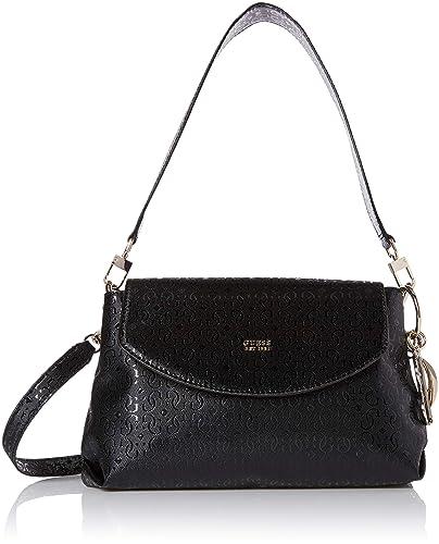 GUESS Tamra Shoulder Bag, Black, One Size: Amazon.co.uk