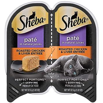 Amazon.com: Bandejas de pienso húmedo Sheba para ...