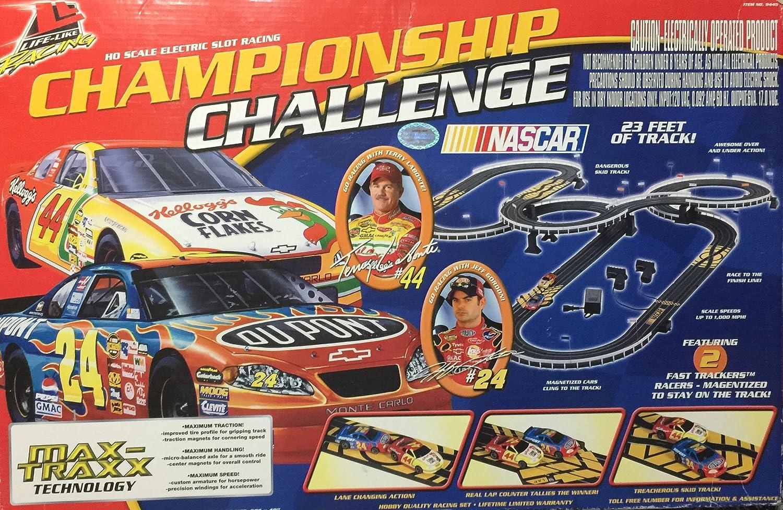 Amazon com: Life Like Racing Championship Challenge HO