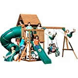 Swing N Slide Tremont Tower Play Set With Two Slides, Two Swings,