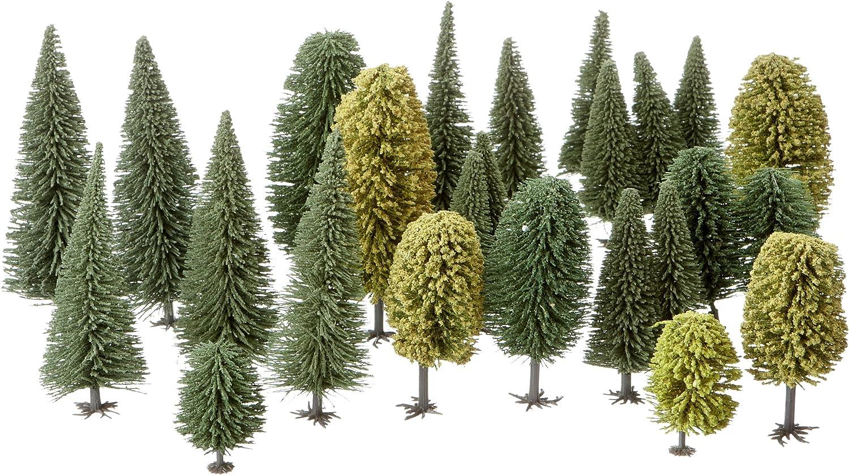 NOCH 26311 - Bosque Mixto (25 árboles, 90 a 150 mm) [Importado de Alemania]: Amazon.es: Juguetes y juegos