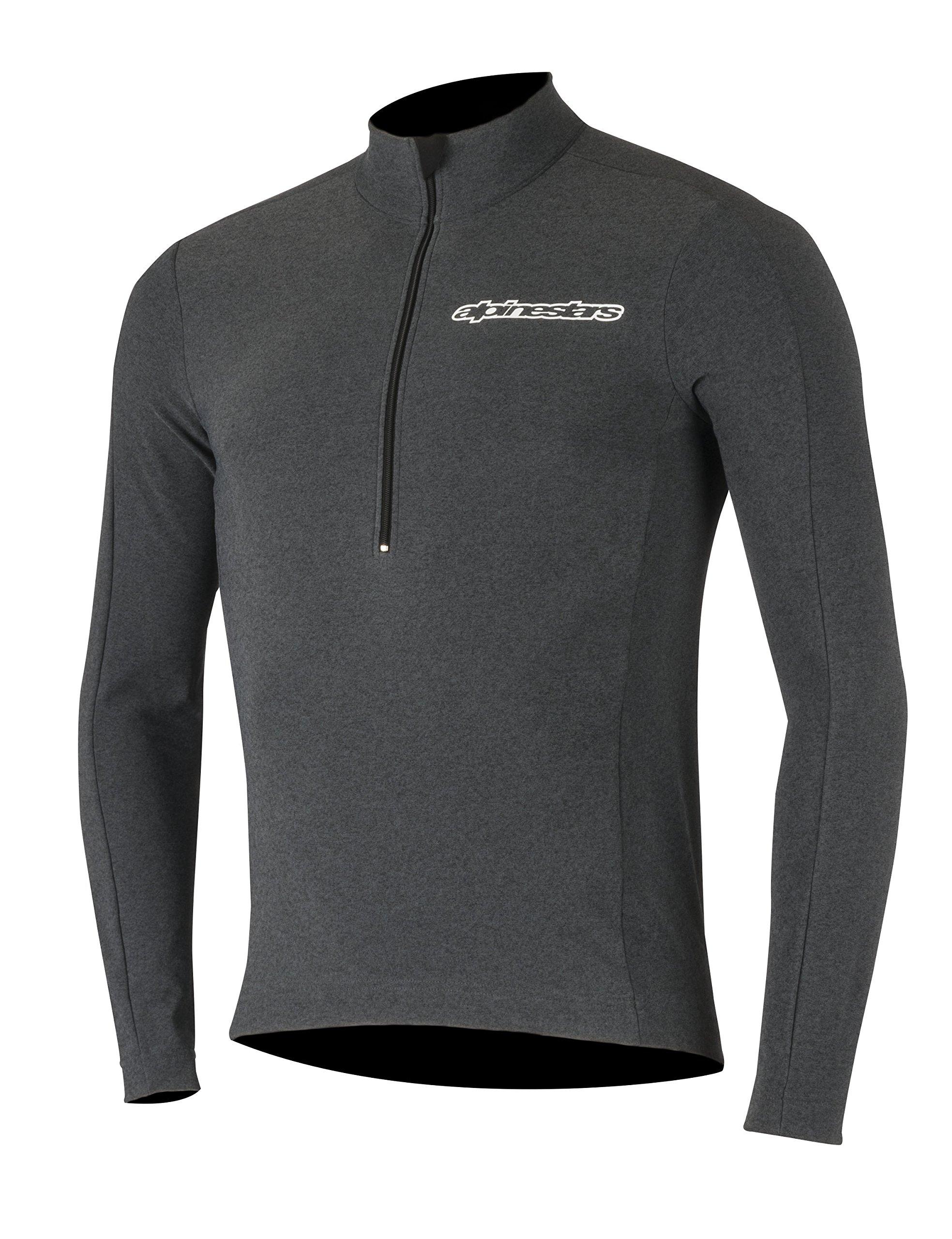 Alpinestars Men's Booter Warm Jersey, Black/White, Large