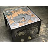 Custom Hot Rod STEAMPUNK Themed End Table