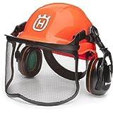 Husqvarna 592752601 Forest Helmet Functional Forest Helmet with Slip Ratchet Orange/Gray