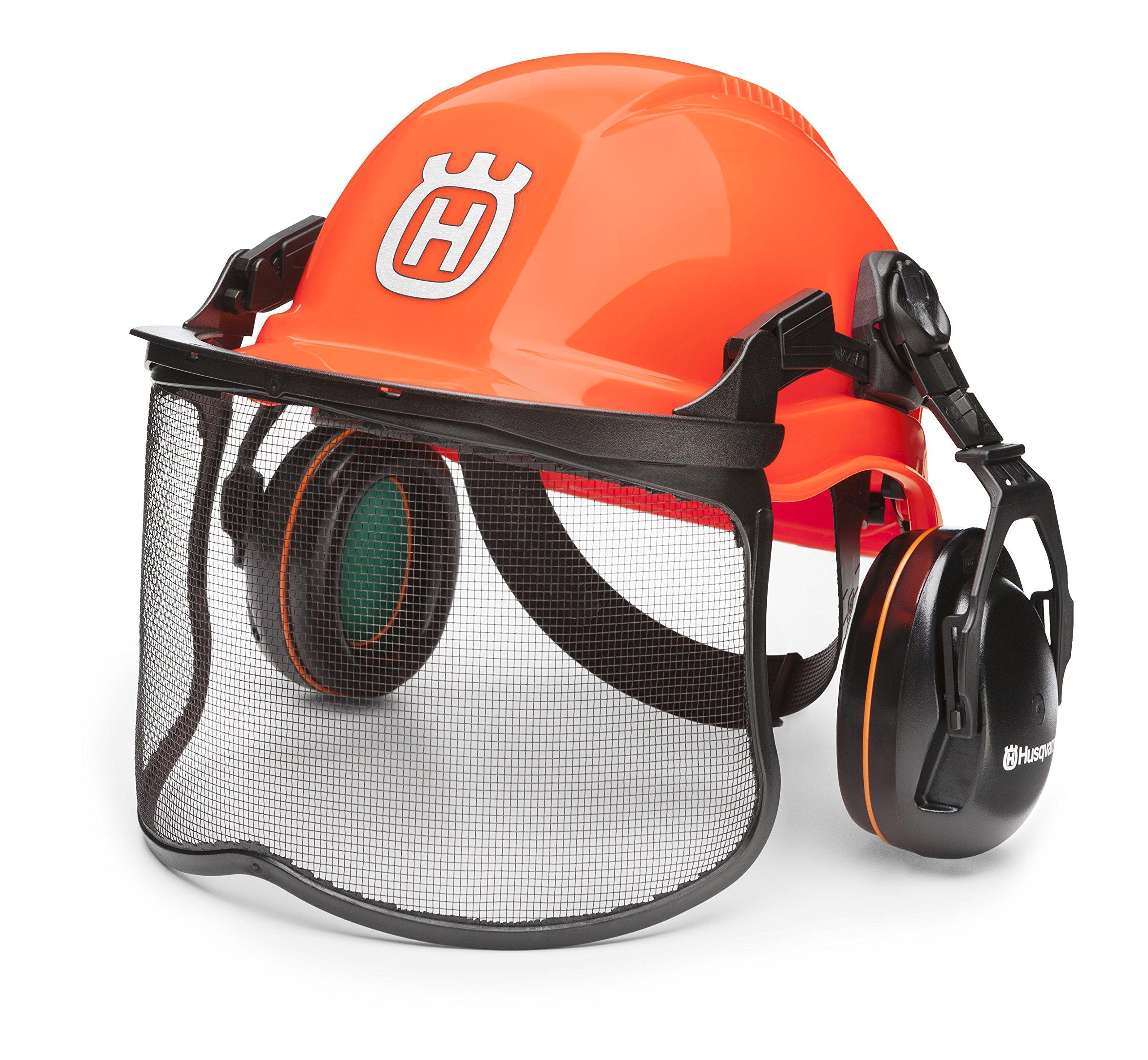 Husqvarna 592752601 Forest Head Protection Helmet by Husqvarna