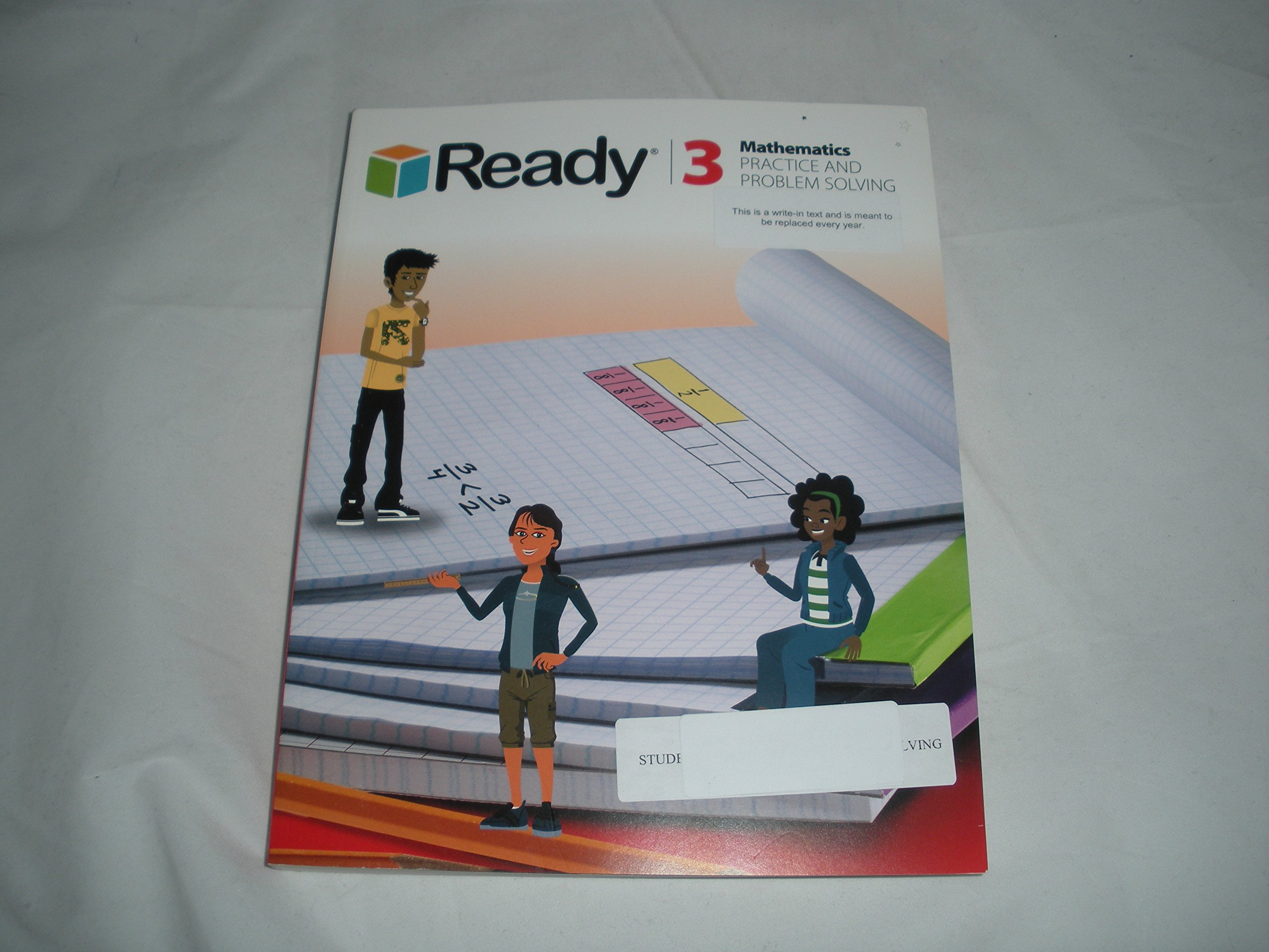 Download Ready Mathematics Practice and Problem Solving Grade 3 pdf epub