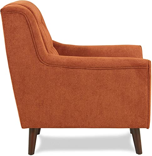 Homelegance Erath 63 Fabric Loveseat, Orange