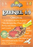 Food For Life Ezekiel 4:9 Organic Sprouted Whole Grain Cereal, Original, 16 oz Boxes