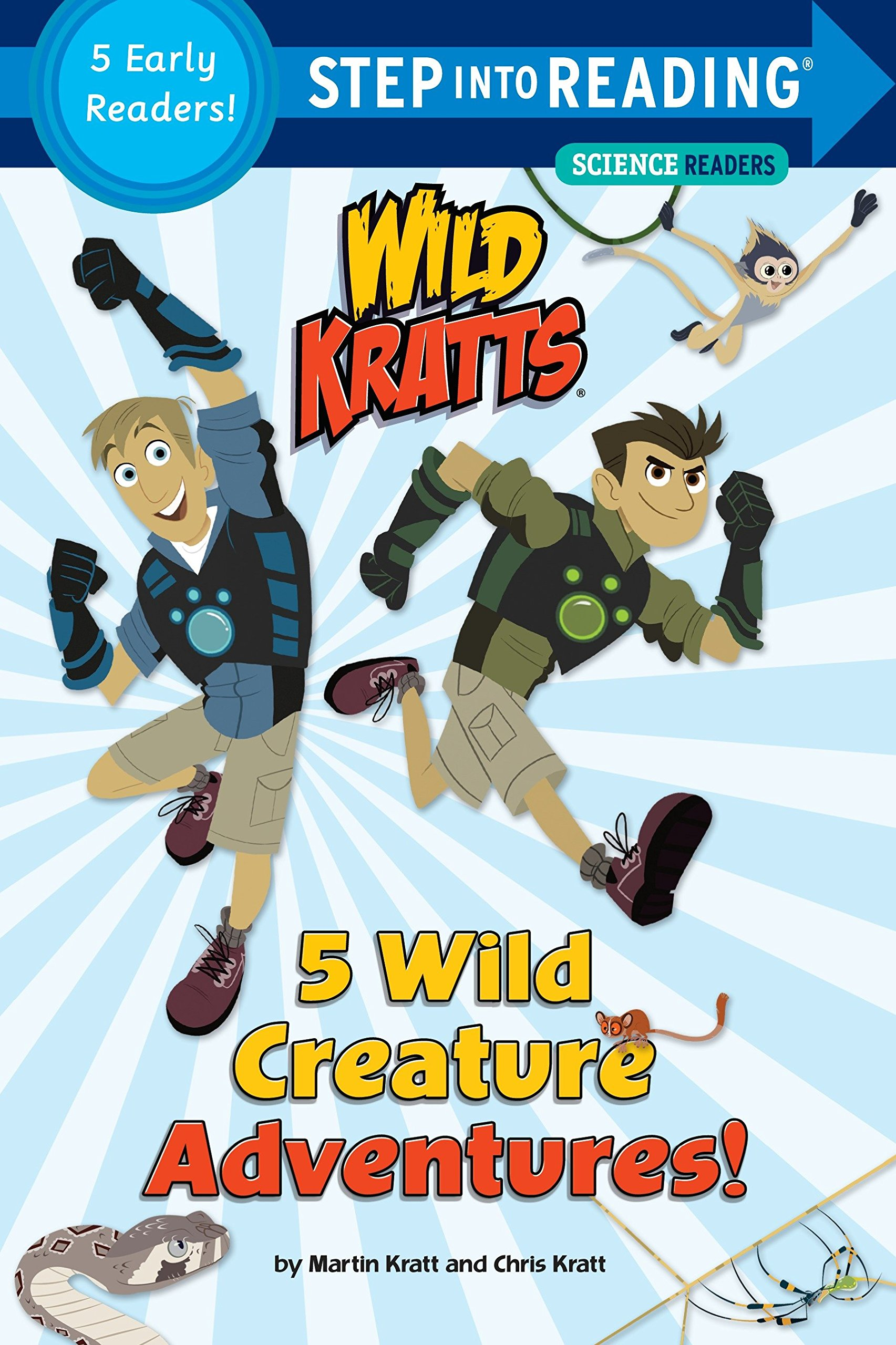 Read Online 5 Wild Creature Adventures! (Wild Kratts) (Step into Reading) pdf epub
