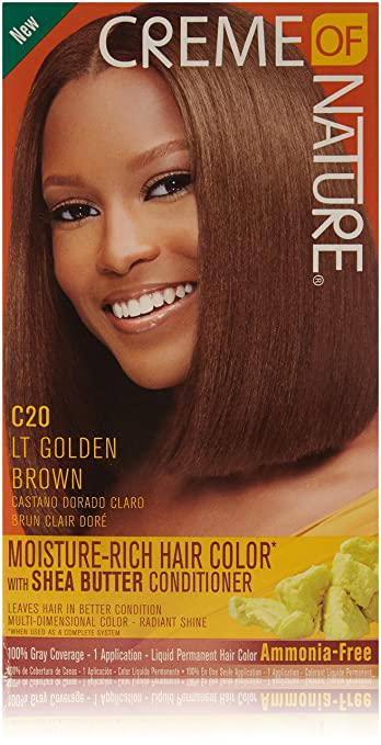 Creme of Nature Liquid Hair Color, Golden Brown