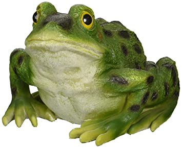Amazoncom Design Toscano Ribbit the Frog Garden Toad Statue