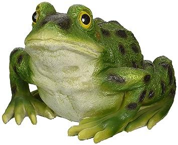 Amazoncom Design Toscano Ribbit the Frog Garden Toad Statue