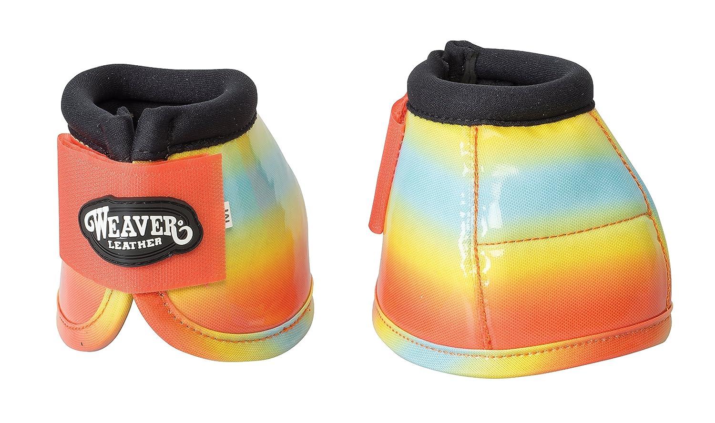 Weaver Leather ベルブーツ B01AX28R2C  Orange/Yellow Ombre Small