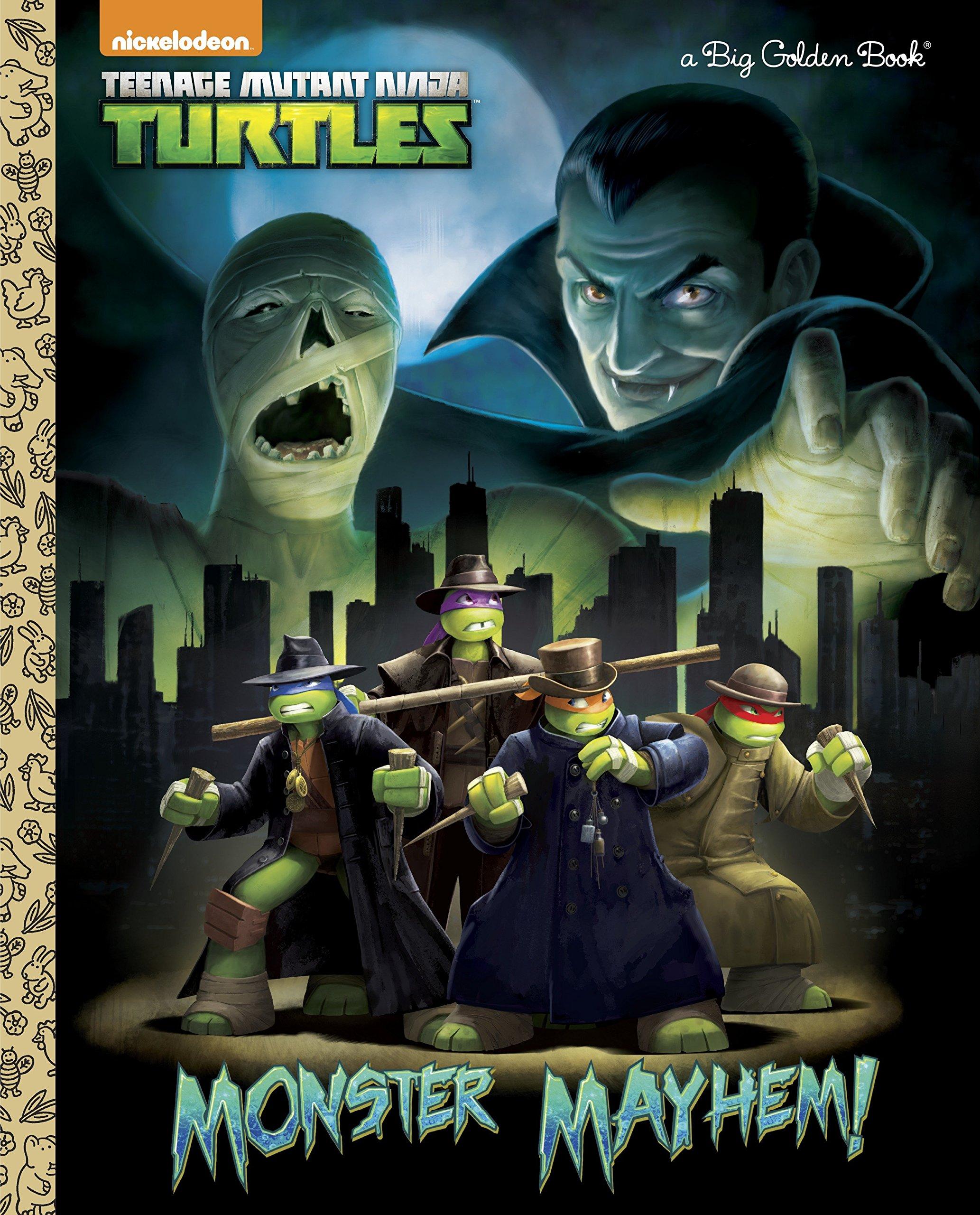 Monster Mayhem! (Teenage Mutant Ninja Turtles) (Big Golden ...