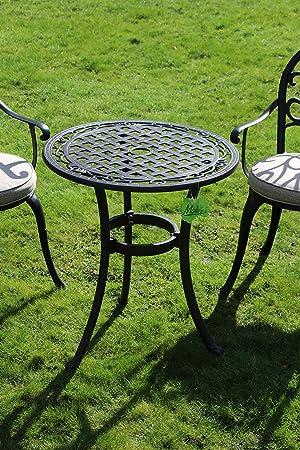 Made for us Table de Jardin Ronde en Fonte d\'aluminium Ø 60 ...