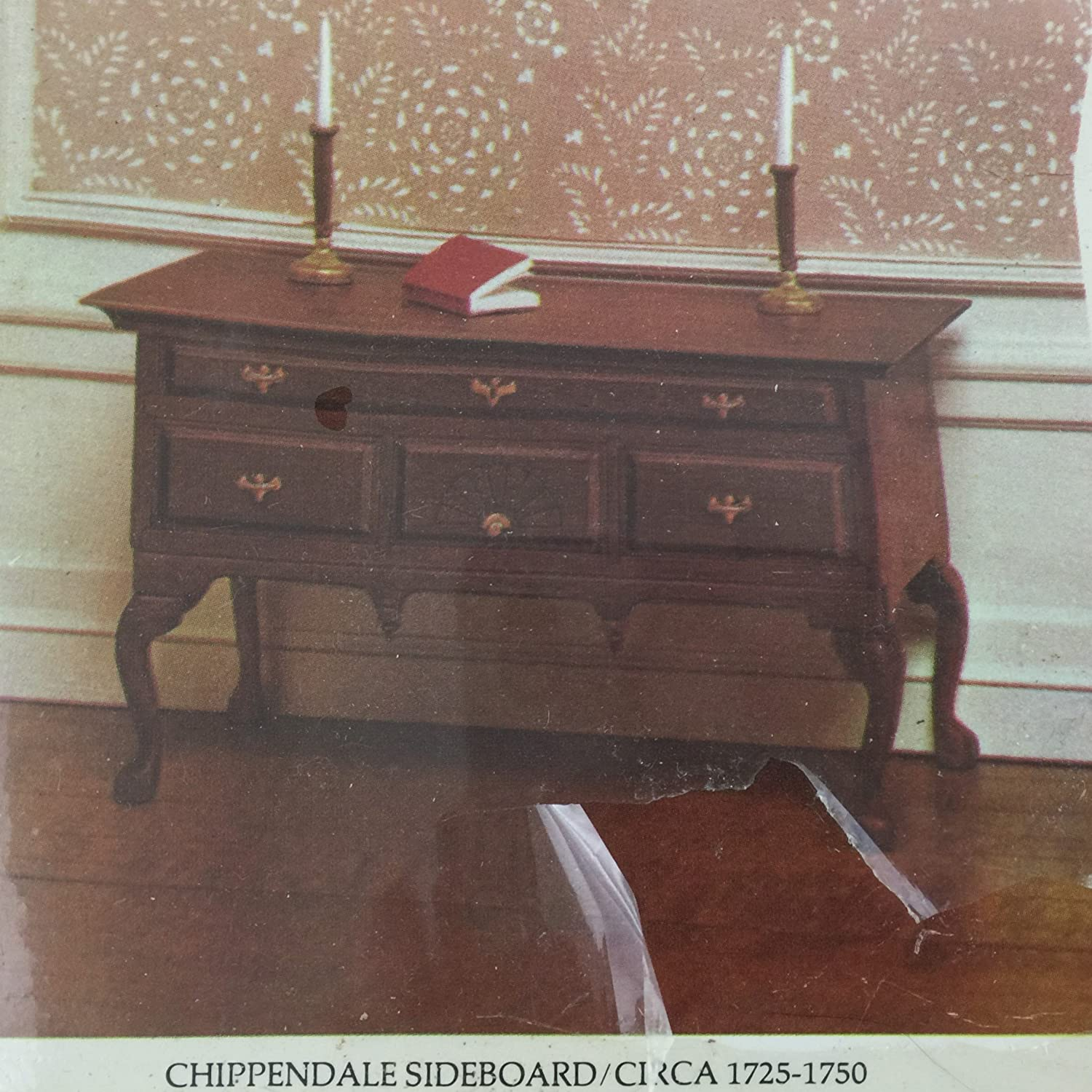Amazon.com: House of Miniatures Chippendale Sideboard #40025 (C. 1770) -  Sealed: Toys & Games