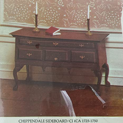 Amazon Com House Of Miniatures Chippendale Sideboard 40025 C