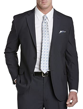 Big and Tall Neat Suit Jacket