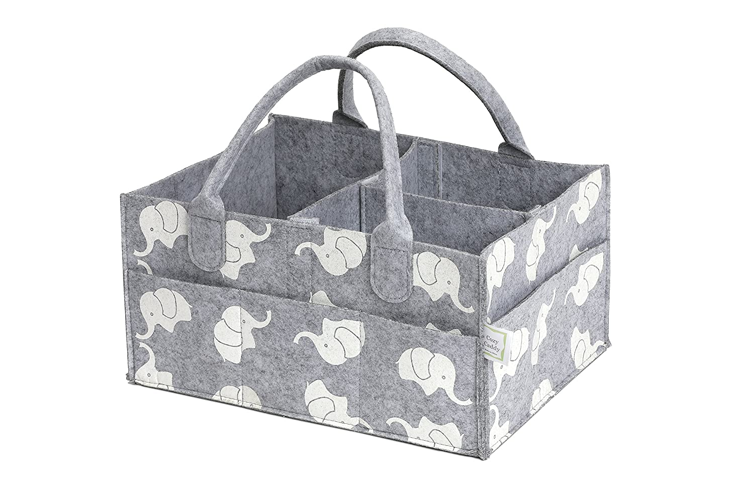 c12337e843c4 Amazon.com   CozyCaddy Grey Diaper Caddy
