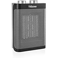 Tristar KA-5064UK Electric Fan Heater, 1500W, 3 Speeds to Heat and Cool, Metal, 1500 W, Silver and Black