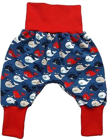 buy online b43de 32195 Baby Pumphose Haremshose Roter Wal Größe 50/56: Amazon.de ...