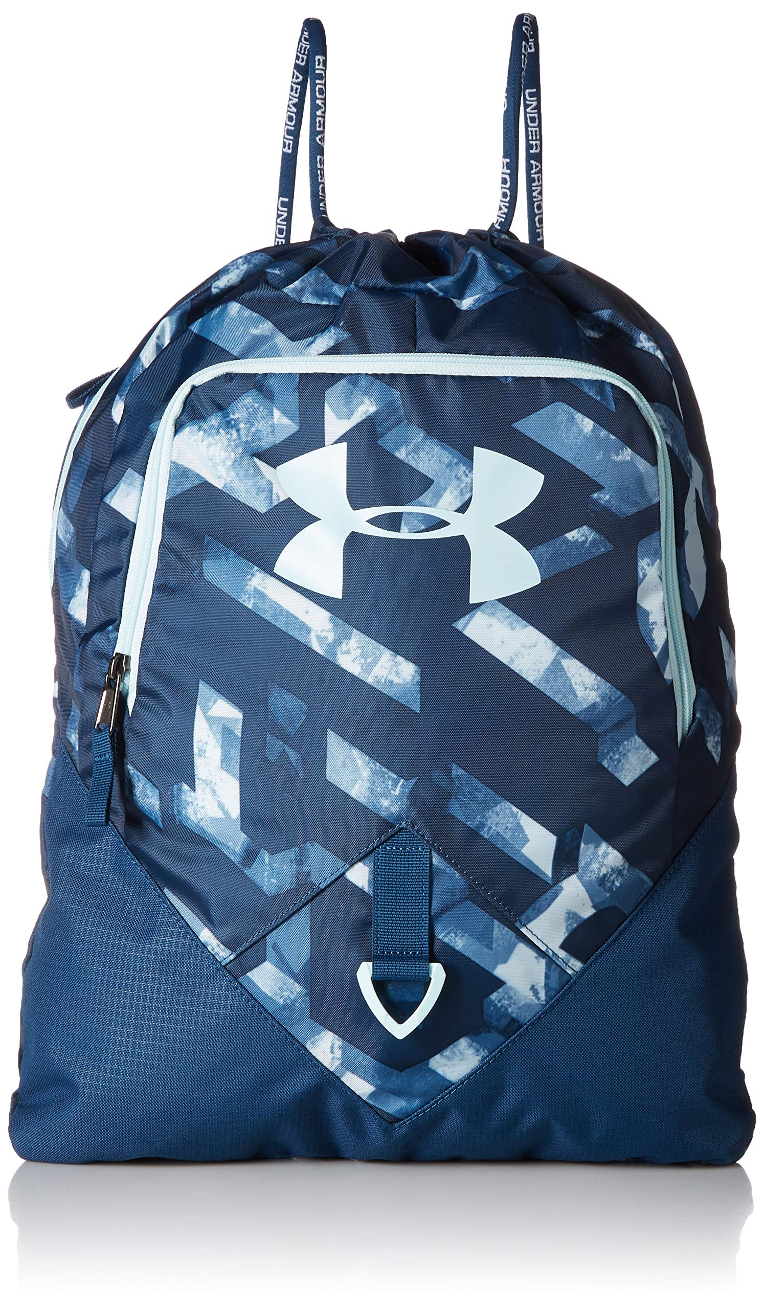 Under Armour Undeniable Sackpack, Petrol Blue//Fuse Teal, One Size Fits All