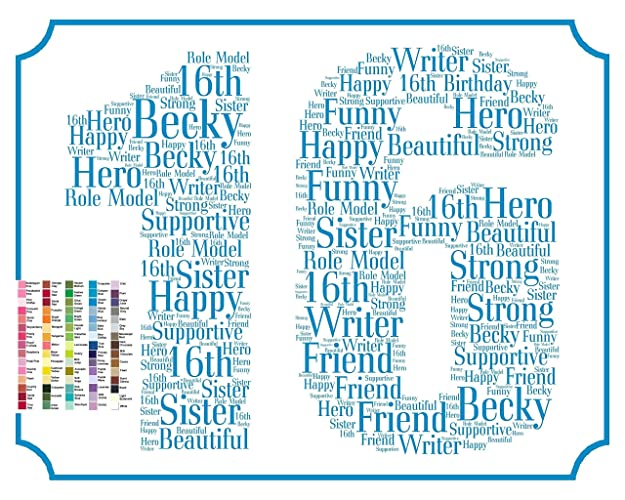 16th Birthday Gifts Gift Ideas 16 Sweet Sixteen Birthdays Decoration Banner Sign Keepsake Personalized For Her