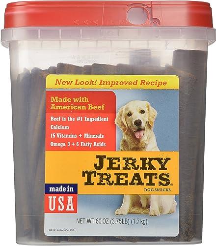 Jerky Treats Tender Beef Strips Dog Snacks