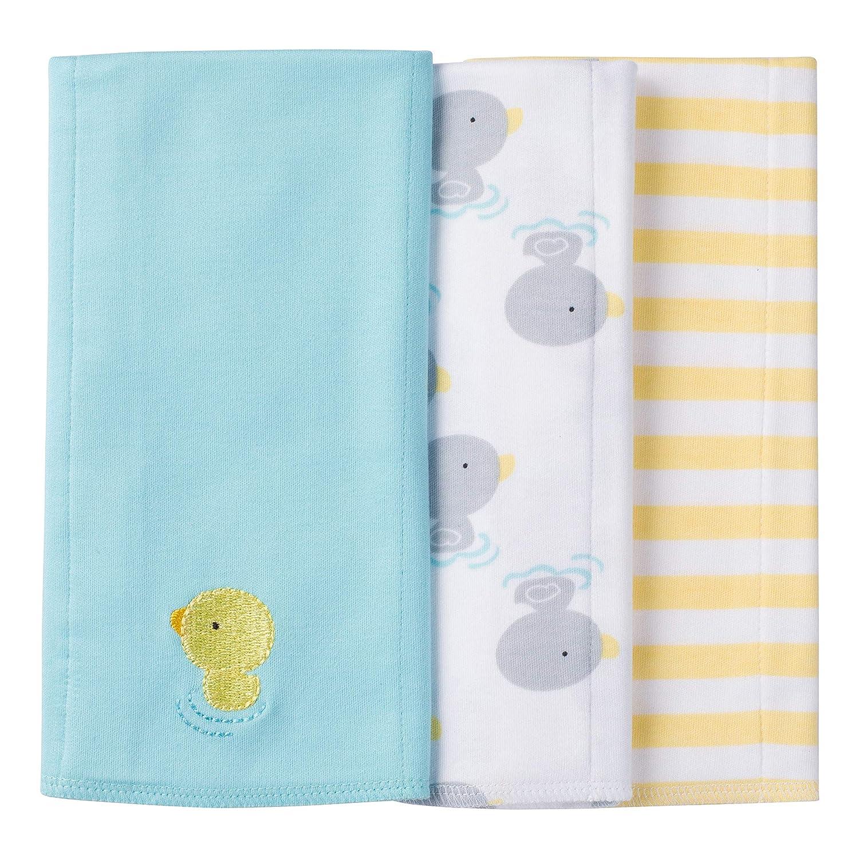 Gerber Baby Boys' 3 Pack Knit Burp Cloth Gerber Children's Apparel