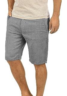 Blend Apollo Herren Shorts Kurze Baumwollhose Bermuda In Leinen-Optik Aus  100% Baumwolle Regular e4158dd7a2