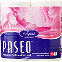 Paseo Tissues Toilet Roll 3 Ply - 300 Pulls (4 Rolls)