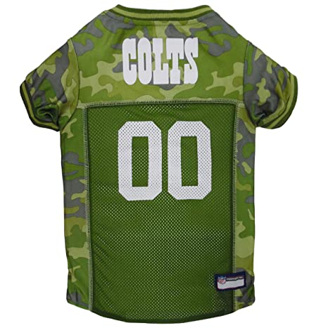 649aac70fdf NFL Indianapolis Colts Camouflage Dog Jersey, X-Large. - CAMO PET Jersey  Available