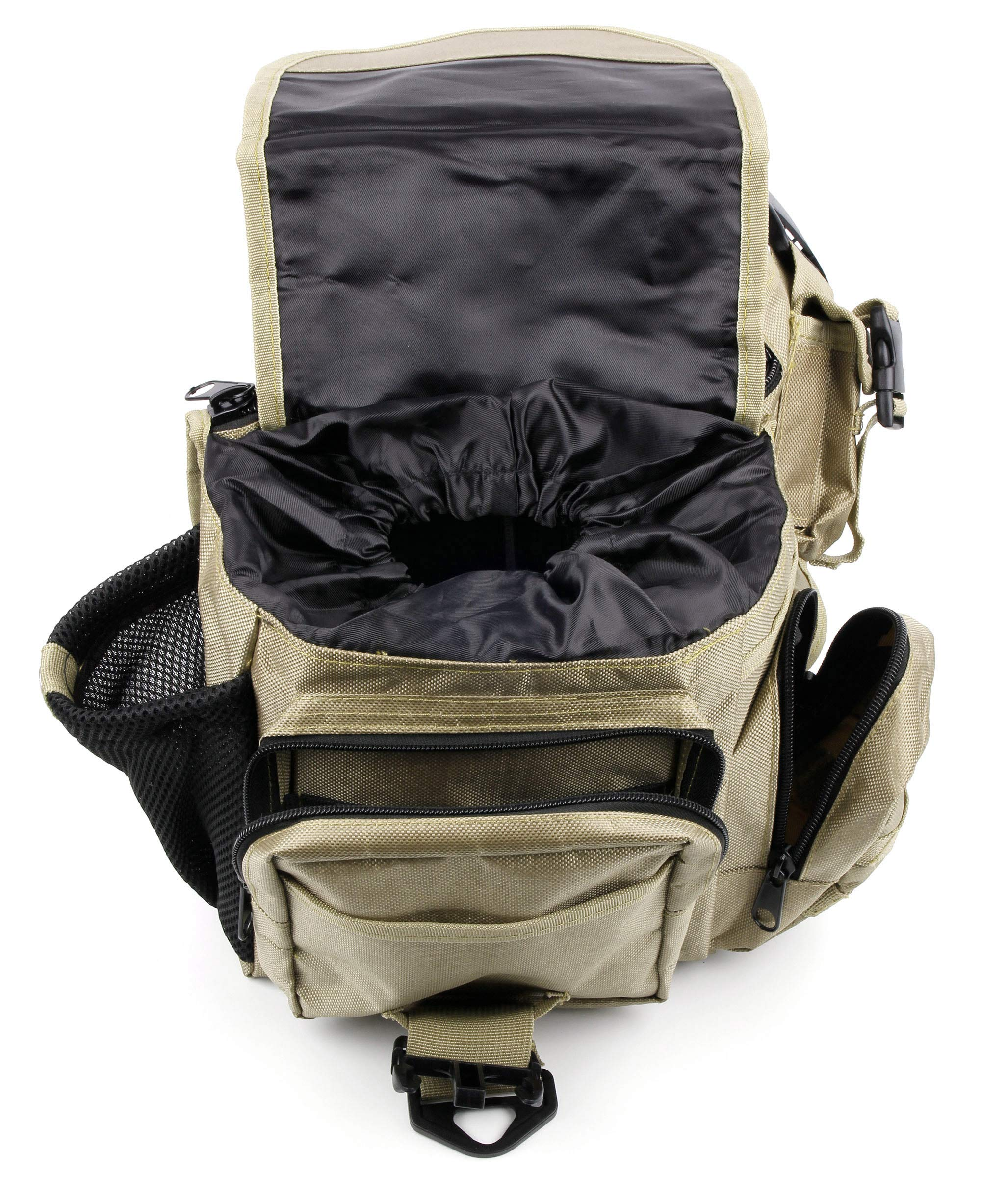 f937a24e4b8b ایگرد - خرید از آمازون | DURAGADGET Tactical Khaki Camera Bag with ...