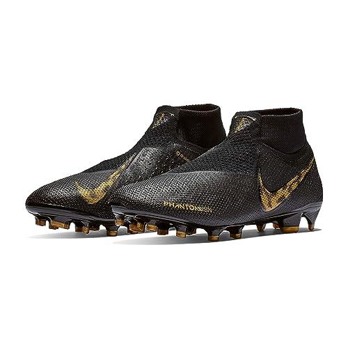 100% quality coupon codes presenting Amazon.com | Nike Phantom VSN Elite DF FG Black-Gold 7 | Shoes