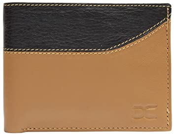 Exclusive Leather Wallet With Flip Tag & Coin Pocket