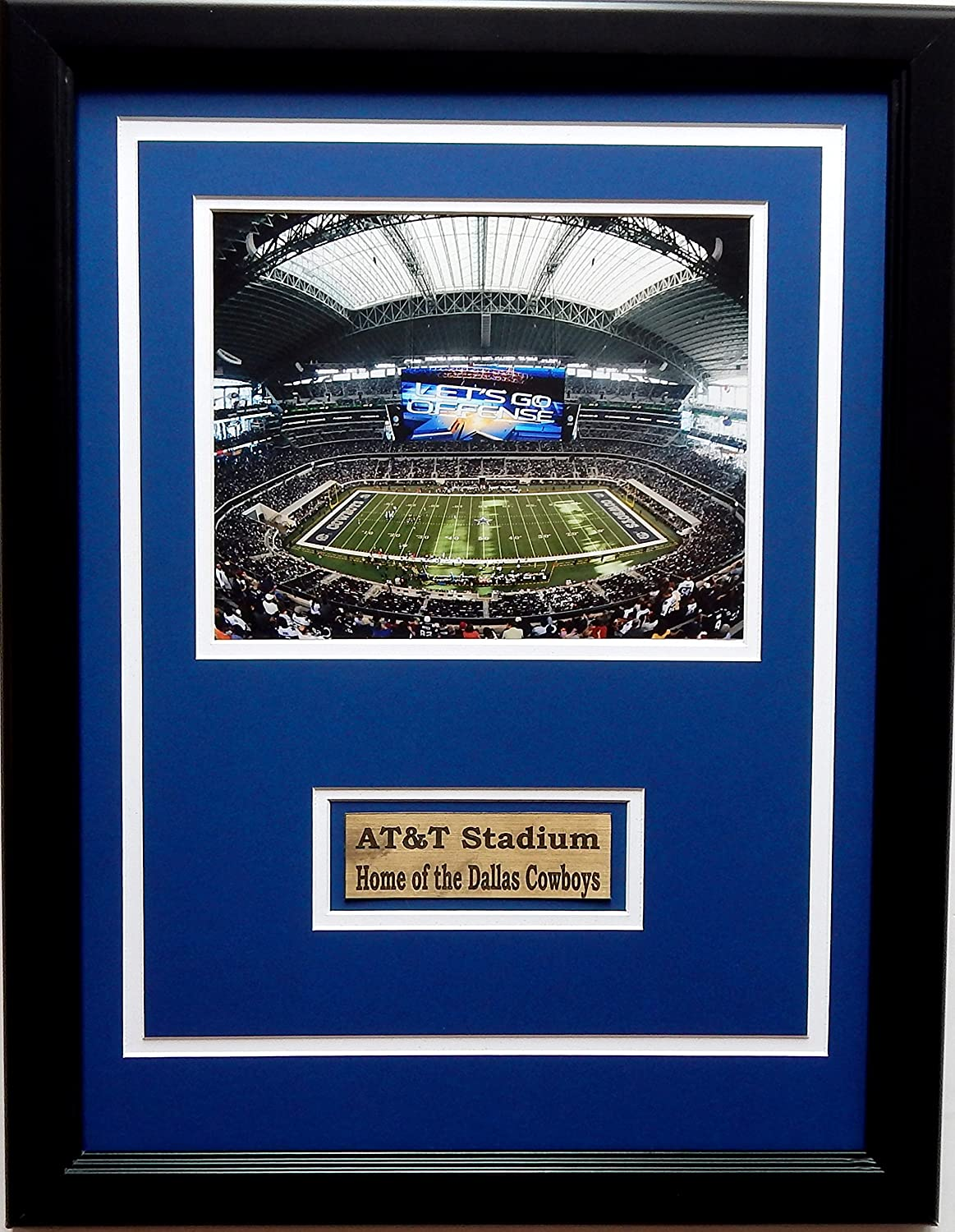 CGI Sports Memories NFL Dallas Cowboys AT & T Stadion Bilderrahmen ...