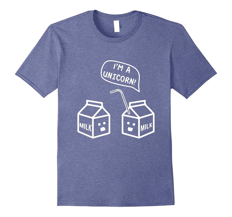 a7ff47f4 Premium Kawaii Cute Milk Carton Im a Unicorn Gift Shirt-Vaci – Vaciuk