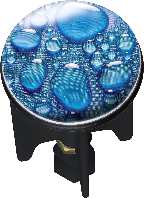 Wenko Waschbeckenst/öpsel Pluggy Heartbeach Stopfen 3.9 x 3.9 x 6.5 cm Kunststoff Mehrfarbig f/ür alle handels/üblichen Abfl/üsse