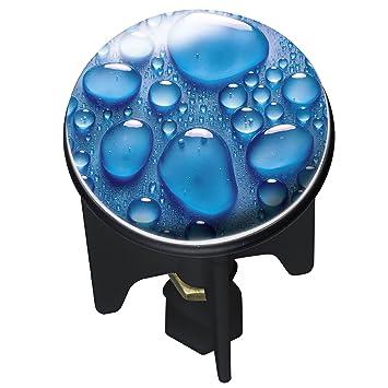 wenko 20795100 waschbeckenstöpsel pluggy drops abfluss stopfen ... - Abflussstopfen Küche