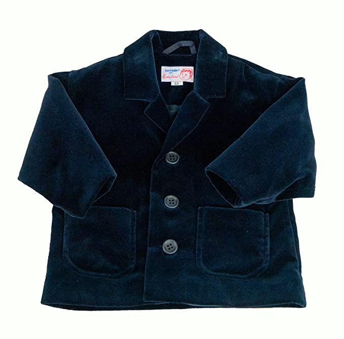 Käthe Kruse - Abrigo para niño azul de 100% algodón, talla: 92cm (