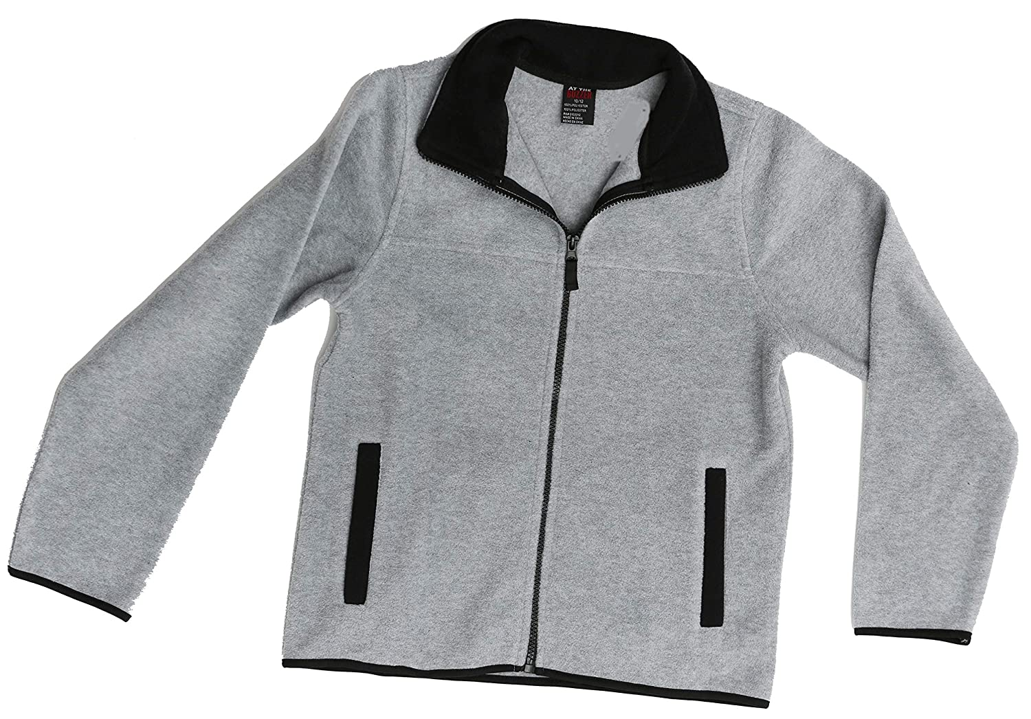 Amazon.com: At The Buzzer - Chaqueta polar para niño: Clothing