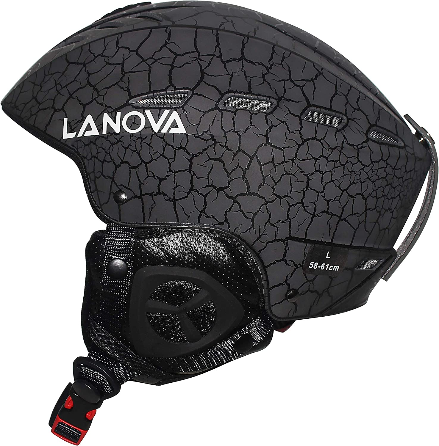 LANOVAGEAR Ski Snowboard Helmet for Adult Men Women Youth